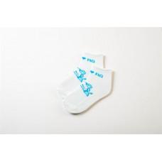 Носки усиленные для ХГ с рисунком гимнастка со скакалкой