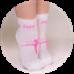 """Носки усиленные для ХГ с рисунком гимнастки с мячом """"RG"""""""