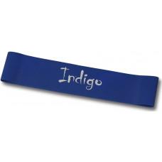 Эспандер Лента латекс замкнутая INDIGO HEAVY (7-12 кг) 46*5*0.09 см Синий