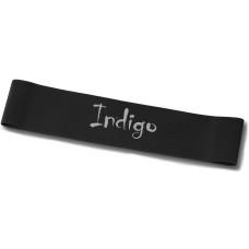 Эспандер Лента латекс замкнутая INDIGO SUPER HEAVY (20-32 кг) 46*5*0.12cм Черный
