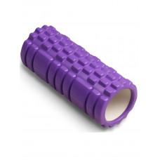 Ролик массажный для йоги INDIGO PVC IN077 14*33 см Фиолетовый
