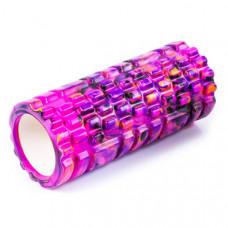 Ролик массажный для йоги INDIGO PVC IN077 14*33 см Мультицвет