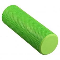 Ролик массажный для йоги INDIGO Foam roll IN021 15*45 см Зеленый