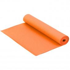 Коврик для йоги и фитнеса 173*61*0,3см Оранжевый
