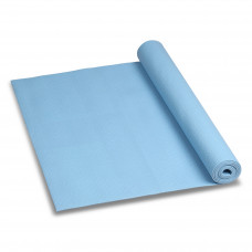 Коврик для йоги и фитнеса 173*61*0,3см Голубой