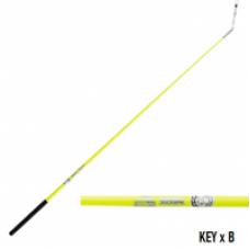 M700G Палочка SASAKI однотонная, 60см желтая+черная ручка