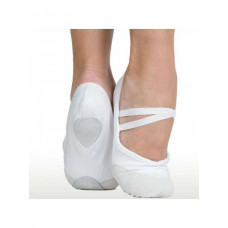 Балетки для танцев и хореографии (белые)