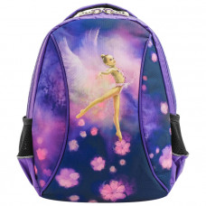 Рюкзак с гимнасткой фиолетово-сиреневый
